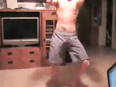 His exercises are amazingly hot and exciting