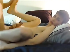 Twink got his boyfriend's asshole stuffed with his dick